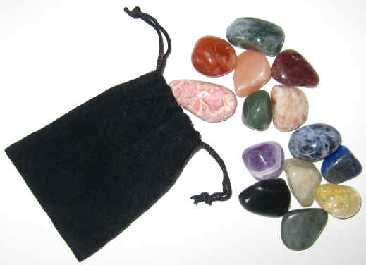 Healing Stones Chakra 14 Collection
