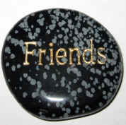 Friends Word Stone